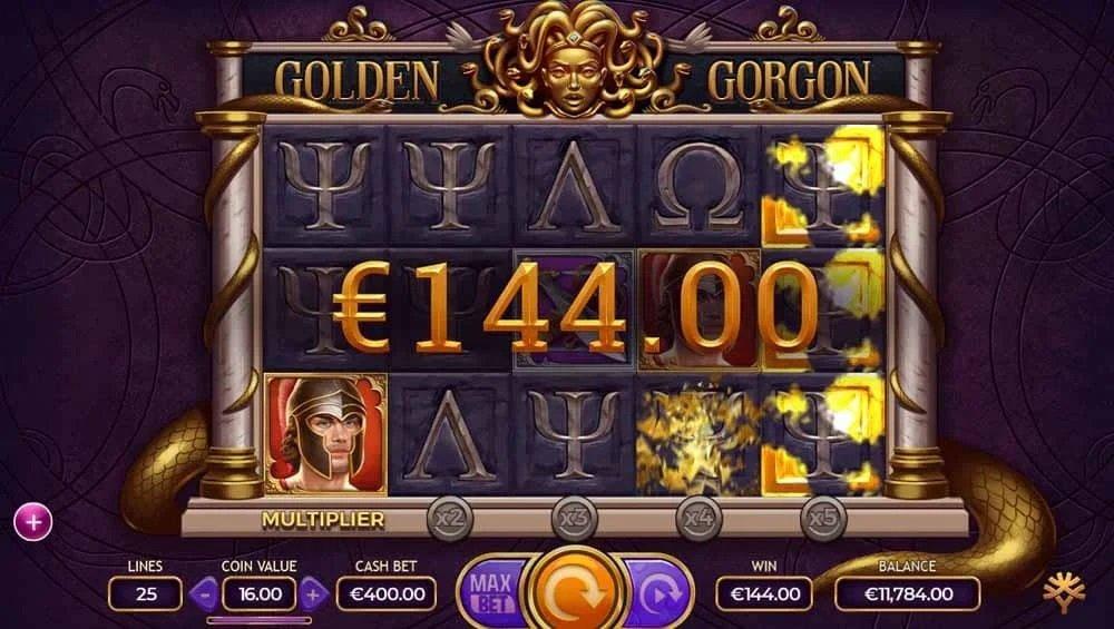 Golden Gorgon videoslot